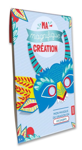 MA MAGNIFIQUE CREATION - MON MASQUE DE DRAGON EN ART PAPER
