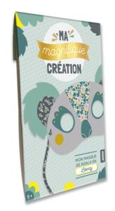 MA MAGNIFIQUE CREATION - MON MASQUE DE KOALA EN LIBERTY
