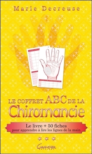LE COFFRET ABC DE LA CHIROMANCIE - LE LIVRE + 50 FCHES POUR APPRENDRE A LIRE LES LIGNES DE LA MAIN