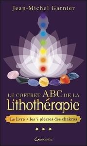 LE COFFRET ABC DE LA LITHOTHERAPIE - LE LIVRE + LES 7 PIERRES DES CHAKRAS