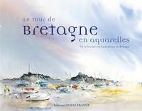 TOUR DE BRETAGNE EN AQUARELLES (BROCHE)