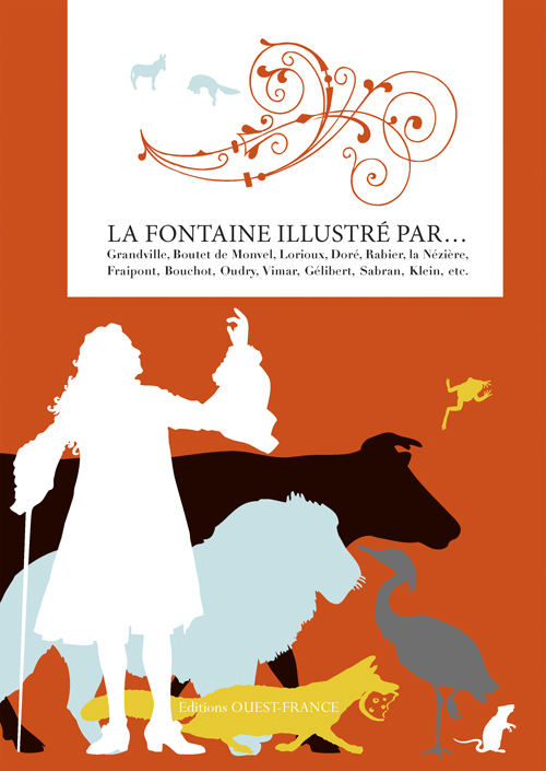 FABLES LA FONTAINE ILLUSTRE PAR...