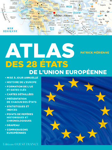 ATLAS DES 28 ETATS UNION EUROPEENNE