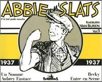 ABBIE AN'SLATS 1937 VOLUME 1 (1937)