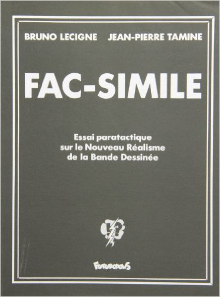 FAC-SIMILE (ESSAI PARATACTIQUE SUR LE NOUVEAU REALISME DE LA BA