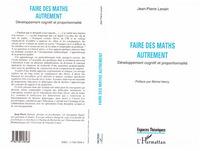 FAIRE DES MATHS AUTREMENT  DEVELOPPEMENT COGNITIF ET P