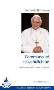 COMMUNAUTE ET CATHOLICISME
