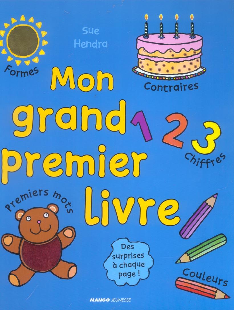 MON PREMIER GRAND LIVRE