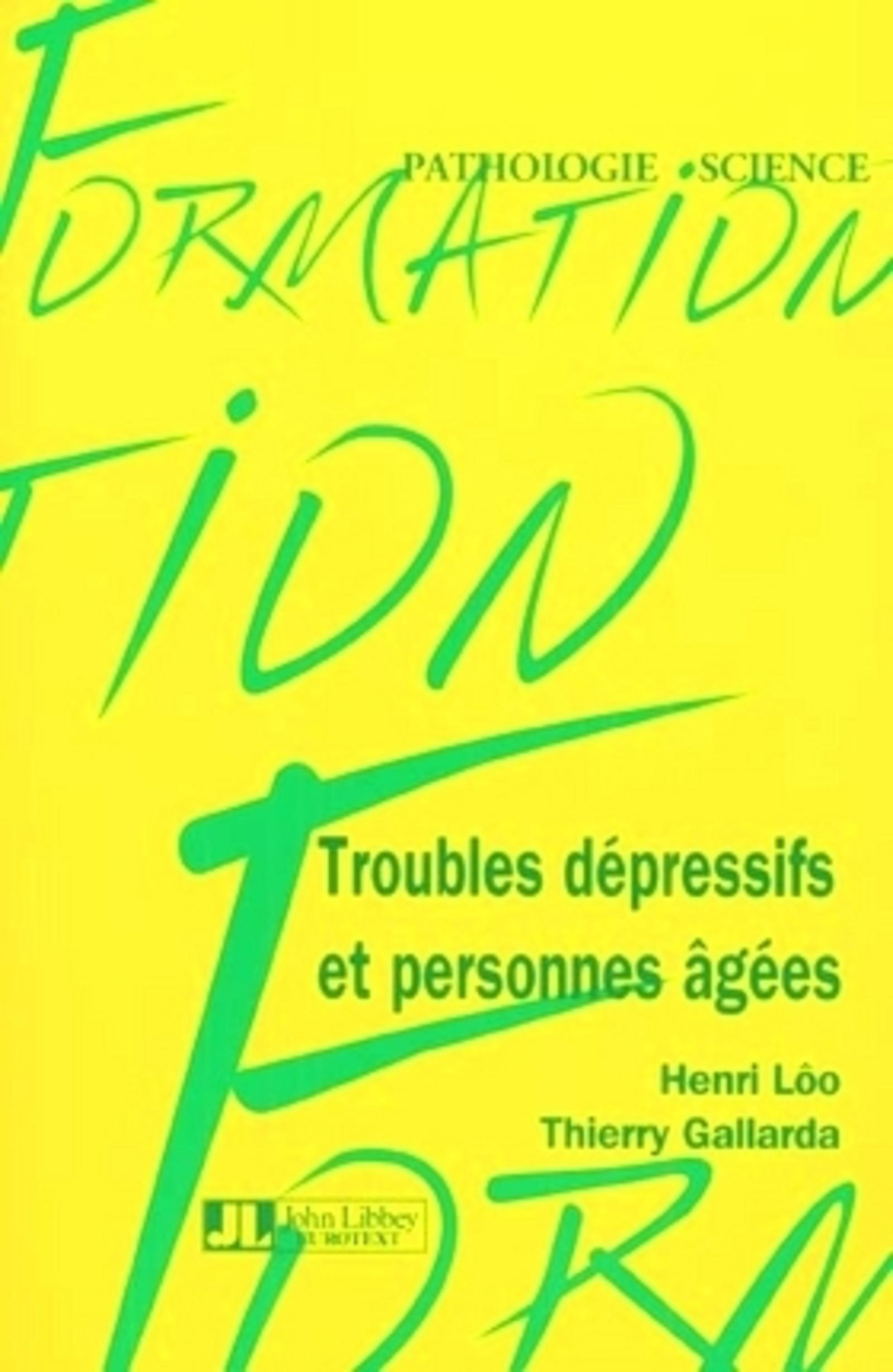 TROUBLES DEP & PERS AGEES