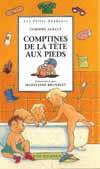 COMPTINES DE LA TETE AUX PIEDS - LES PETITS BONHEURS