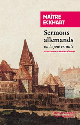 SERMONS ALLEMANDS - OU LA JOIE ERRANTE
