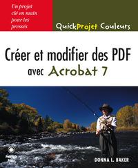 CREER MODIFIER DES PDF AVEC ACROBAT 7