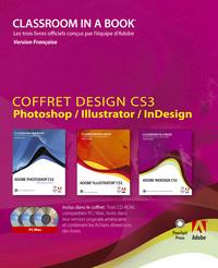 COFFRET DESIGN CS3 PHOTOSHOP / ILLUSTRATOR / INDESIGN
