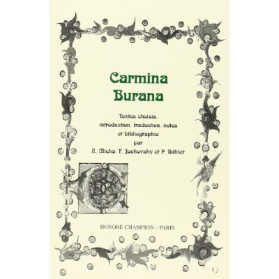 CARMINA BURANA.