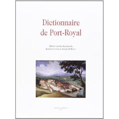 DICTIONNAIRE DE PORT-ROYAL.