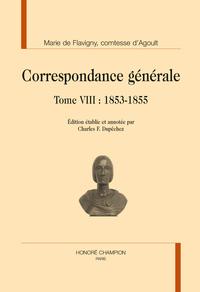 BC - T109 - CORRESPONDANCE GENERALE T8 : MAI 1853-1855