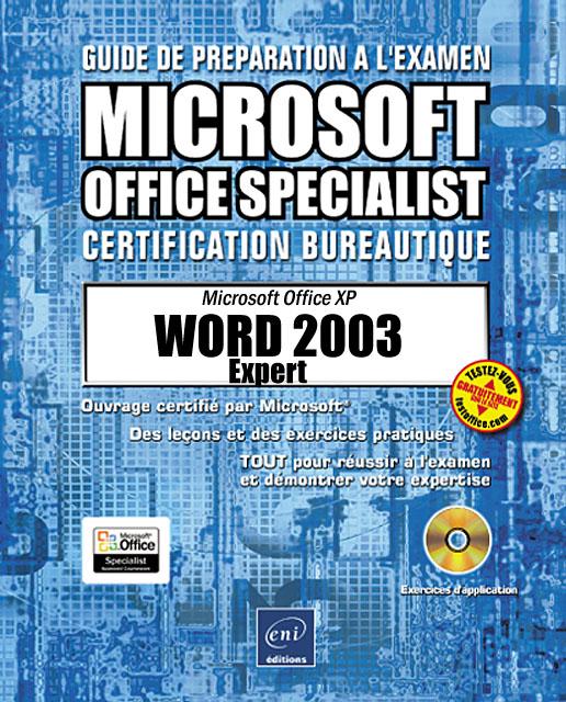 WORD 2003 EXPERT