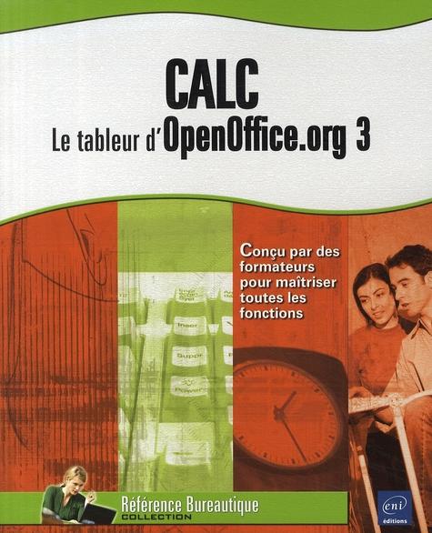 CALC : LE TABLEUR D'OPENOFFICE.ORG 3
