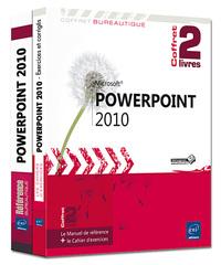 POWERPOINT 2010 : COFFRET DE 2 LIVRES
