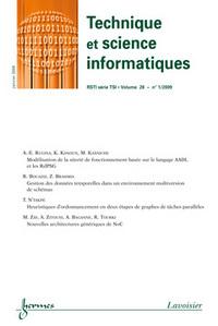 TECHNIQUE ET SCIENCE INFORMATIQUES RSTI SERIE TSI VOL 28 N  1 JANVIER 2009