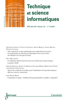 TECHNIQUE ET SCIENCE INFORMATIQUES RSTI SERIE TSI VOLUME 33 N. 1-2/JANVIER-FEVRIER 2014