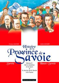 HISTORE DE LA PROVINCE DE LA SAVOIE  - VOL.2:DE LA