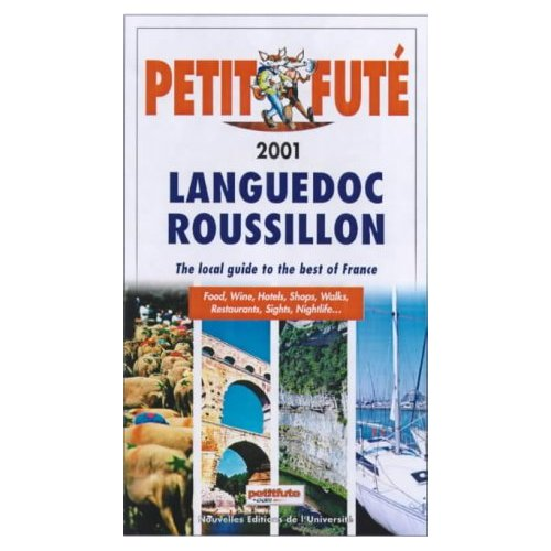 LANGUEDOC ROUSSILLON PETIT FUTE 2001 ED.EN ANGLAIS