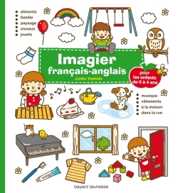 IMAGIER FRANCAIS-ANGLAIS - VERT - (2012)