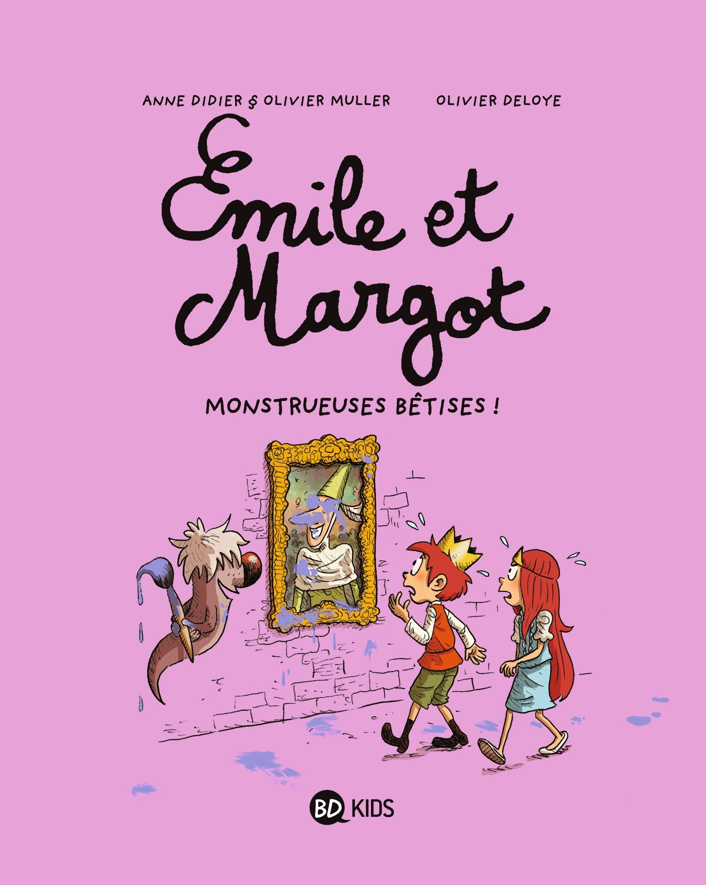 EMILE ET MARGOT T02 - MONSTRUEUSES BETISES