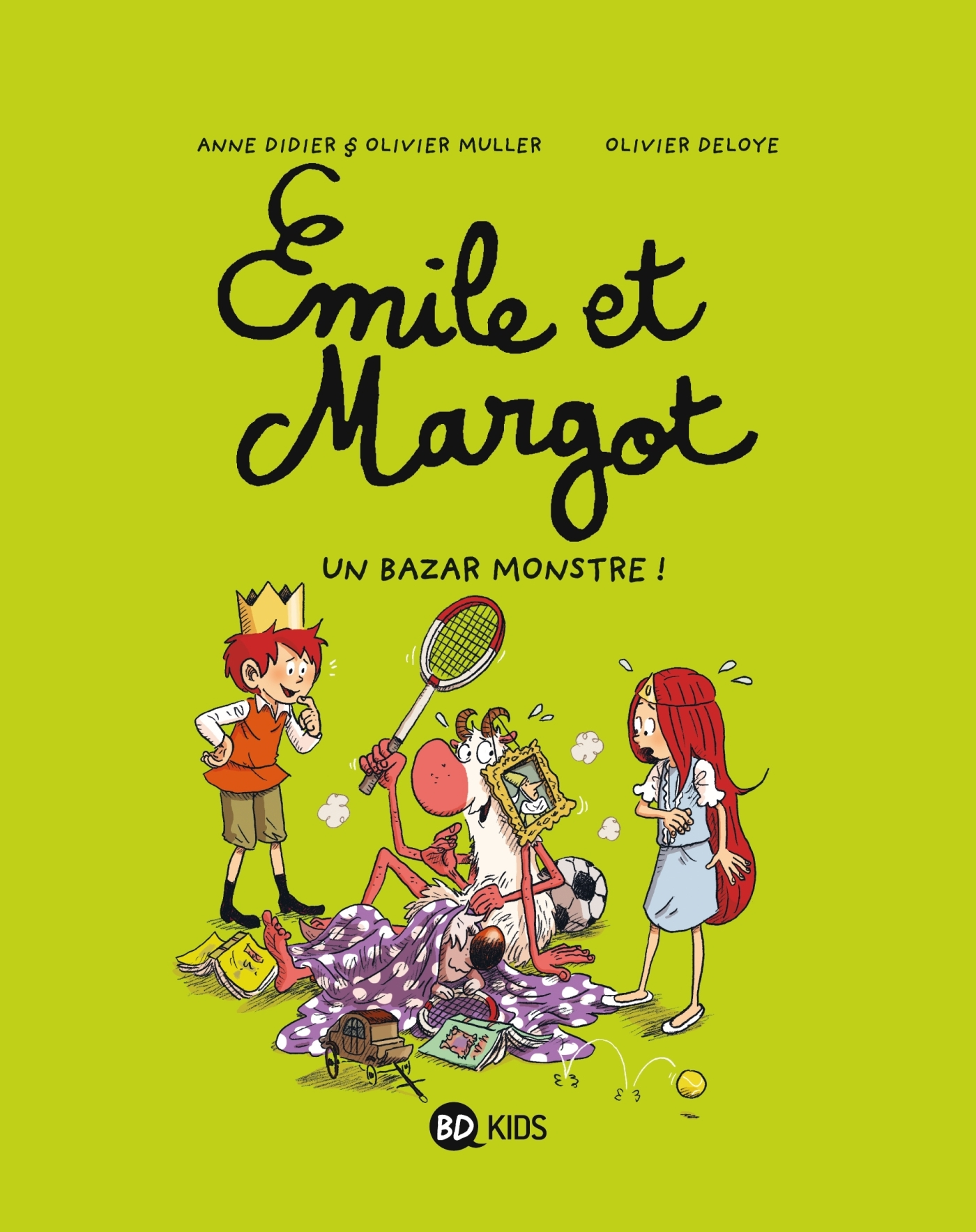 EMILE ET MARGOT T03 - UN BAZAR MONSTRE !