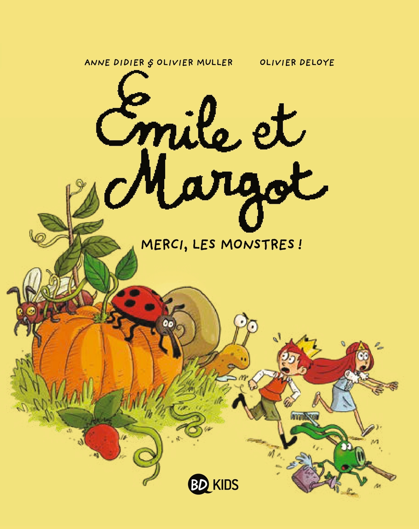 EMILE ET MARGOT T04 - MERCI, LES MONSTRES !