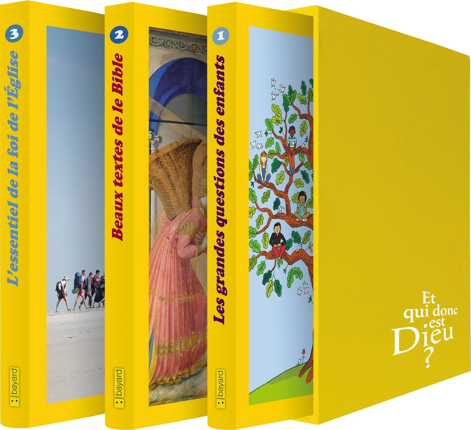 COFFRET EQDD 3 TOMES (ED  CATECHESE 2014)