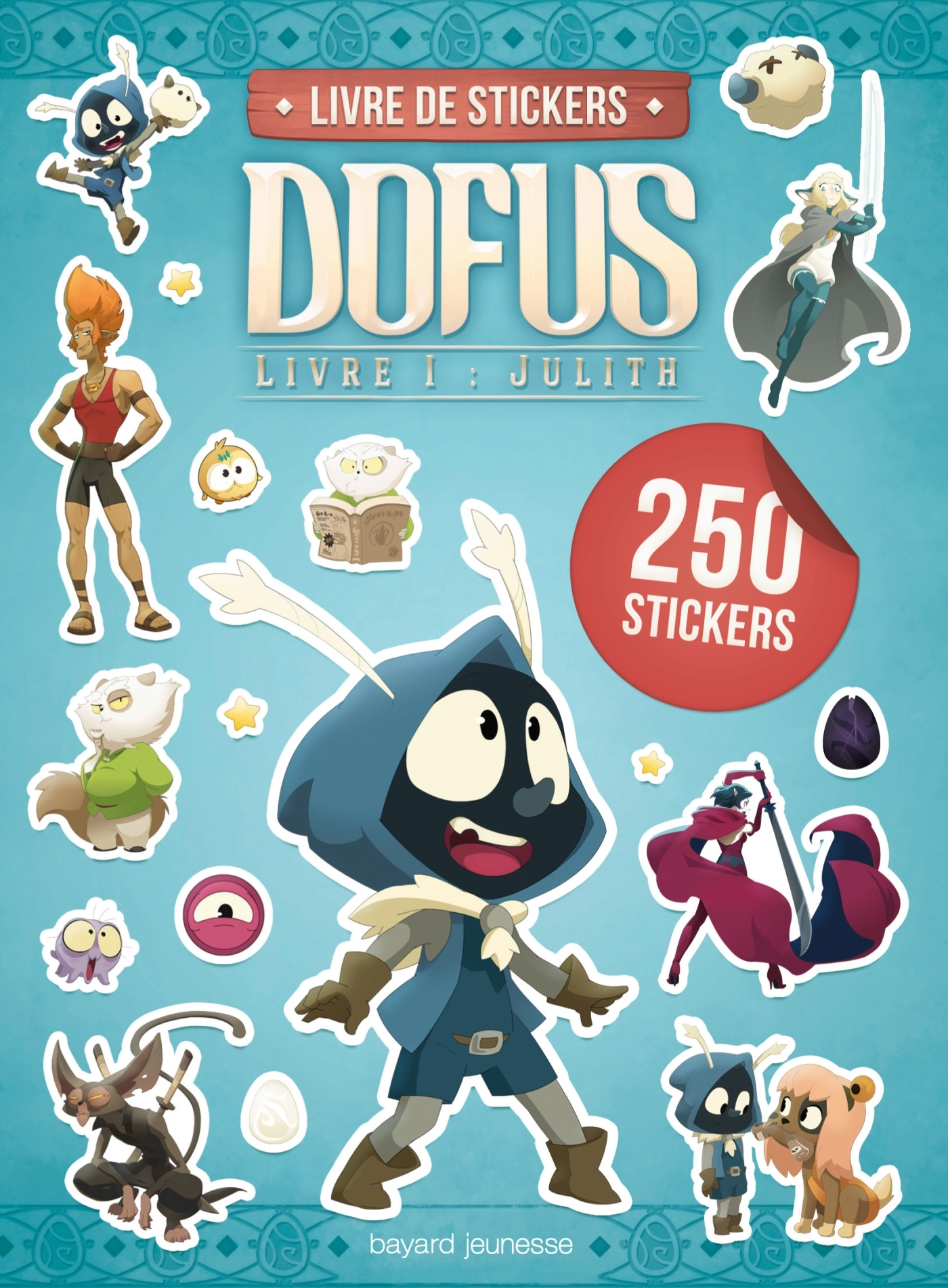 CARNETS STICKERS FILM DOFUS