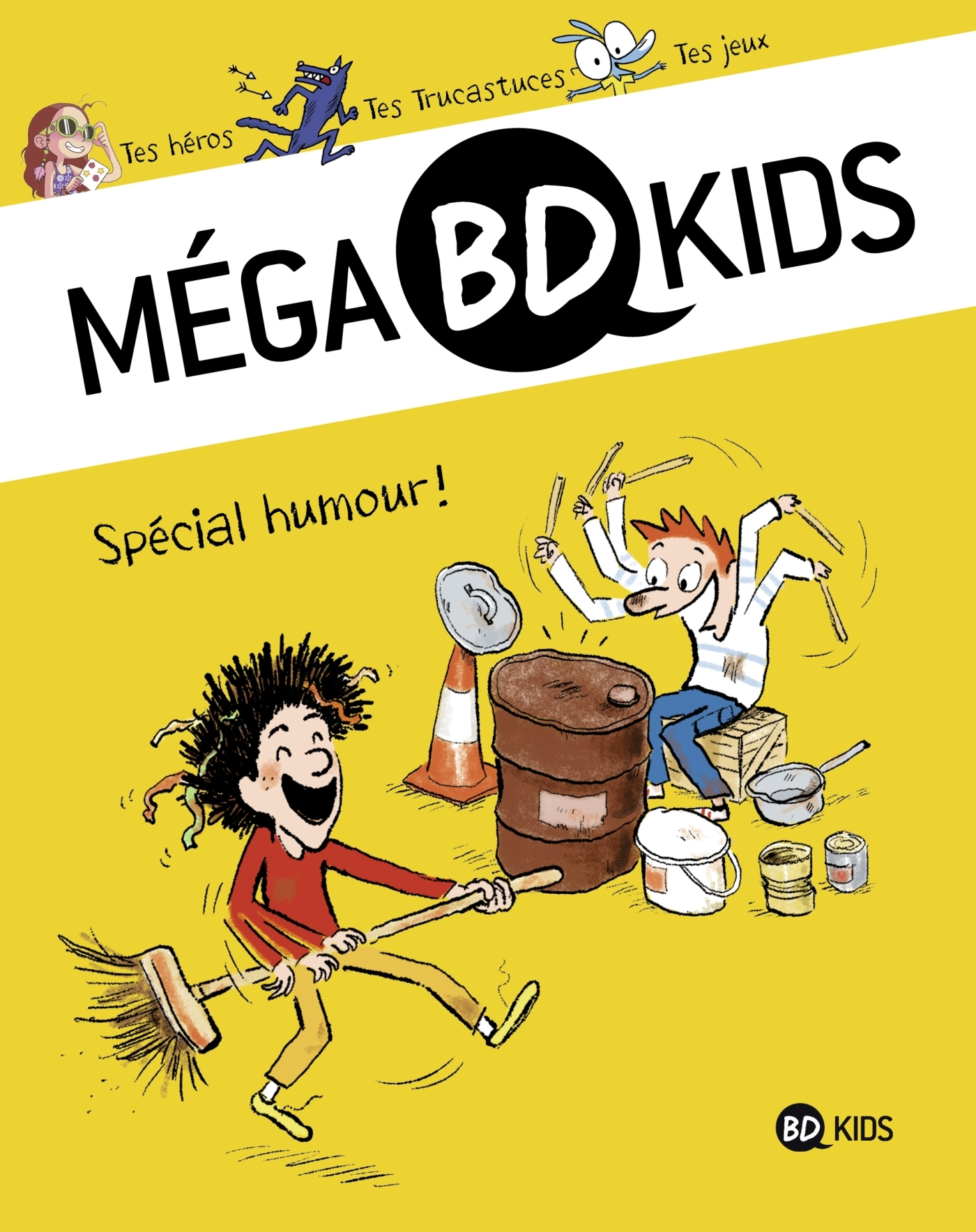 MEGA BD KIDS, TOME 04 - SPECIAL HUMOUR