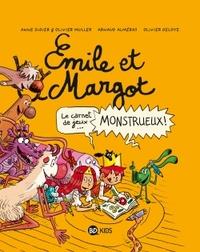 EMILE ET MARGOT - CAHIER DE JEUX