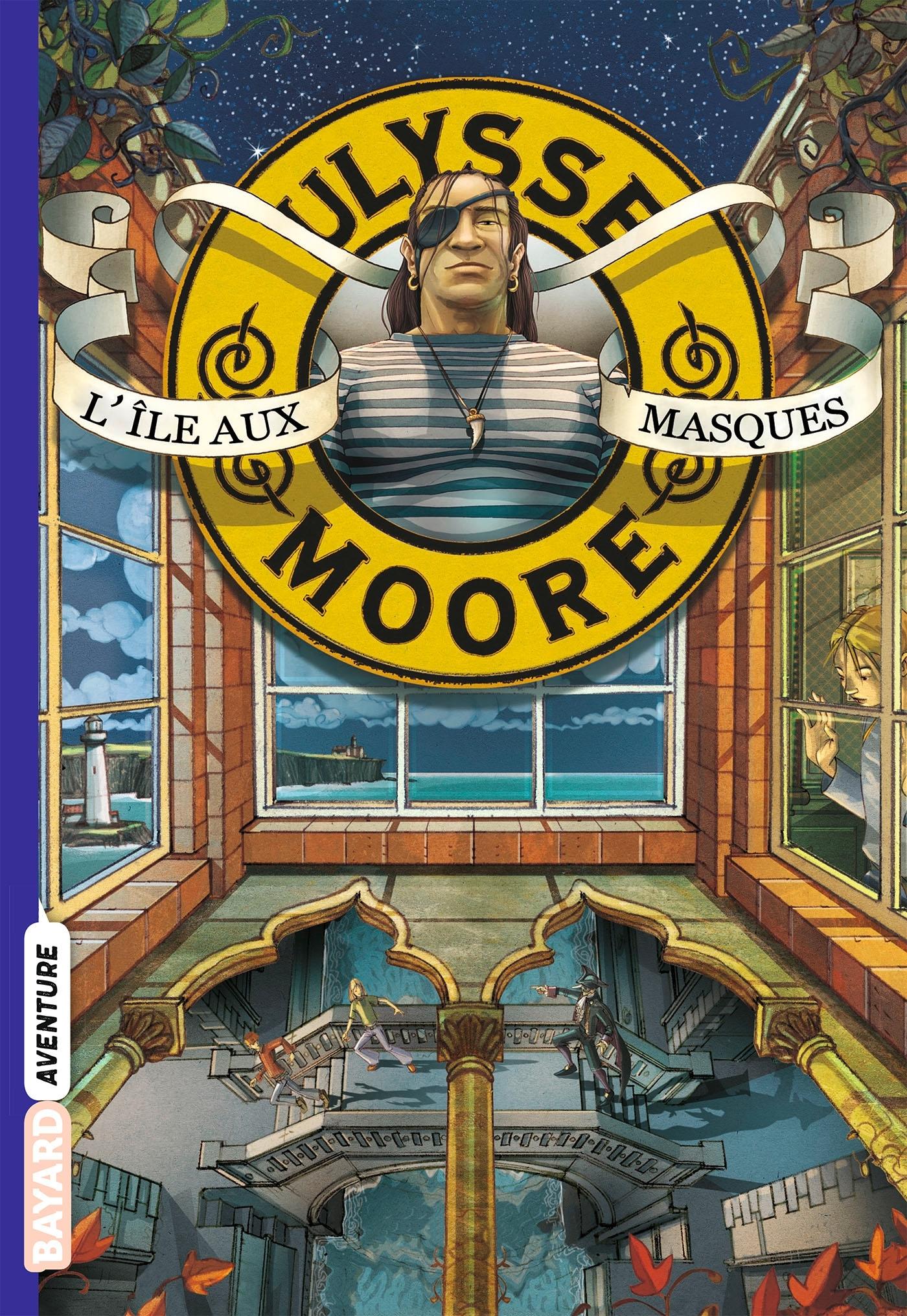 ULYSSE MOORE, TOME 04 - L'ILE AUX MASQUES