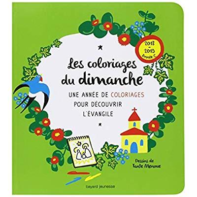 LES COLORIAGES DU DIMANCHE (ANNEE C) - ACTIVITE COLORIAGE