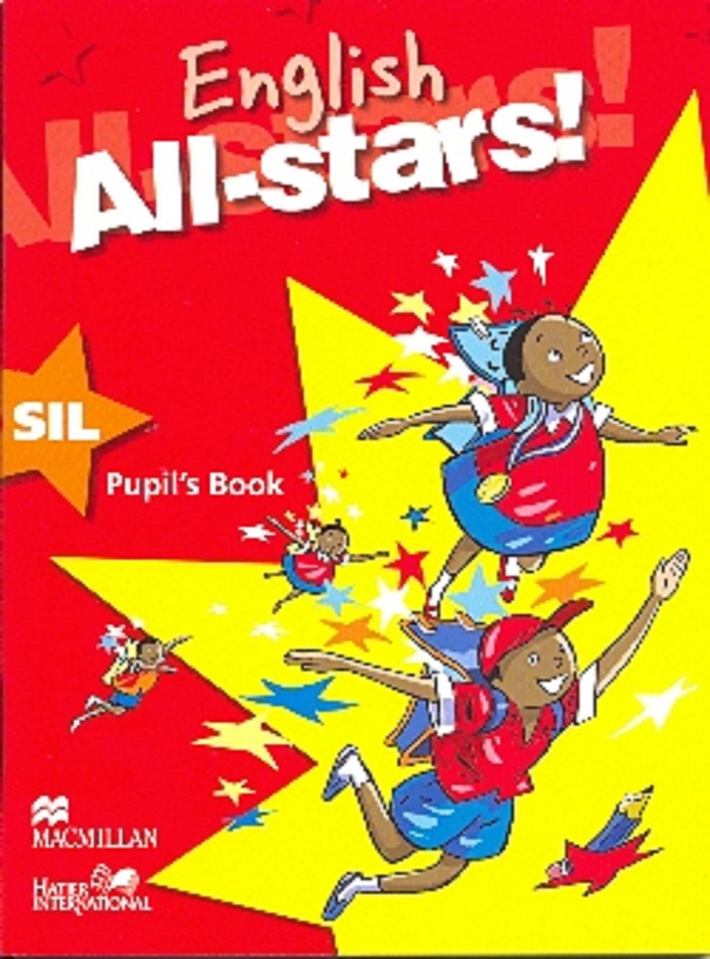 ENGLISH ALL STARS SIL PUPIL'S BOOK CAMEROUN