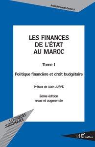 Les finances de l'état au Maroc tome 1