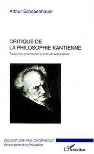 Critique de la philosophie kantienne