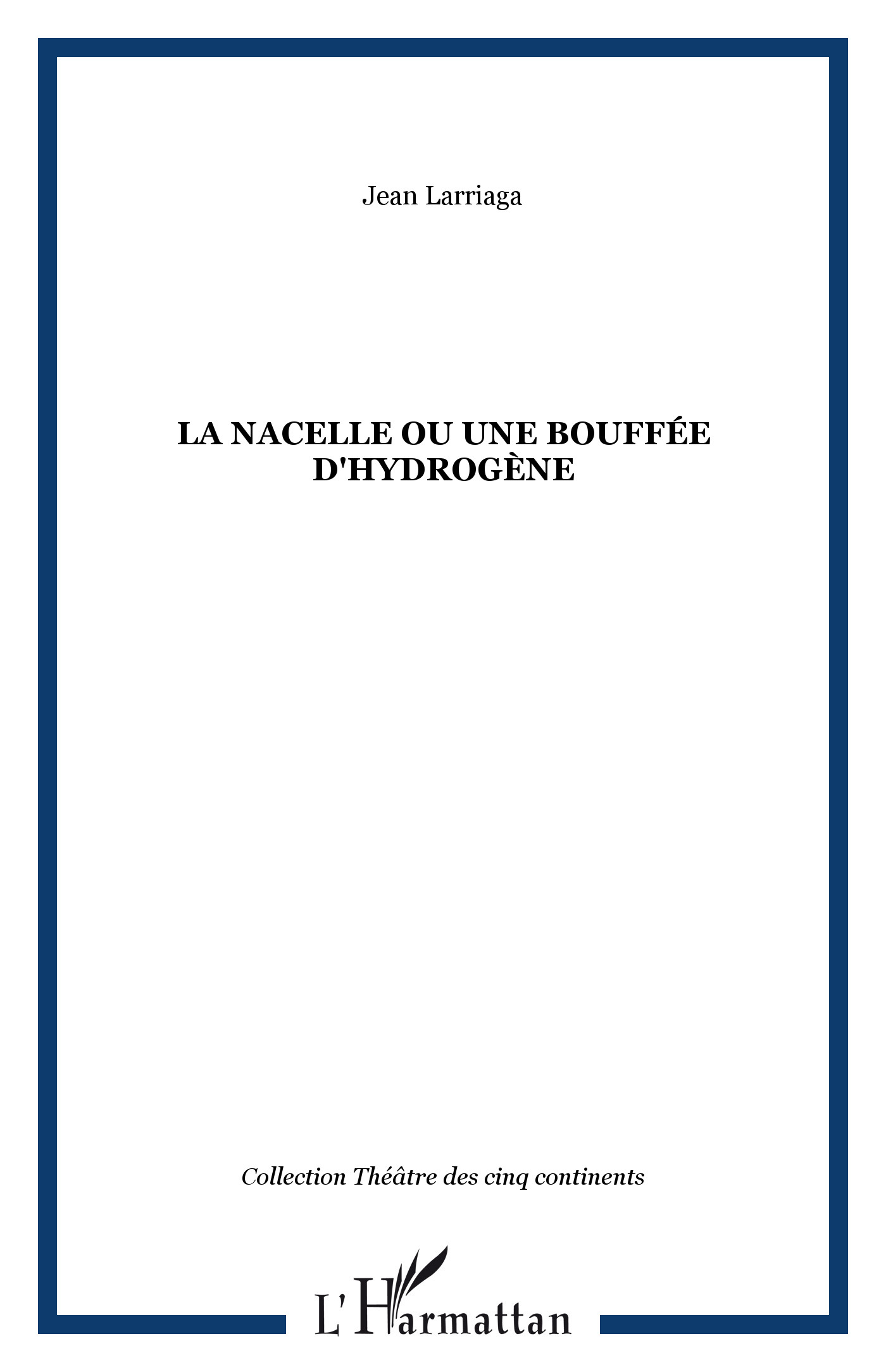 NACELLE OU UNE BOUFFEE D'HYDROGENE