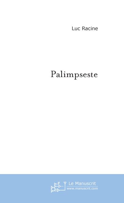 PALIMPSESTE