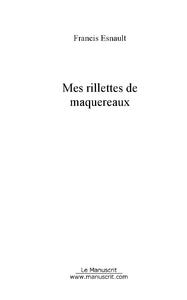 MES RILLETTES DE MAQUEREAUX