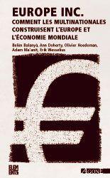 EUROPE INC.(POCHE) NOUVELLE EDITION