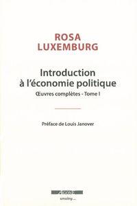 INTRODUCTION A L'ECONOMIE POLITIQUE
