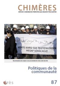 CHIMERES 087 - POLITIQUES DE LA COMMUNAUTE