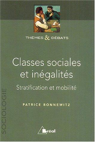 CLASSES SOCIALES ET INEGALITES