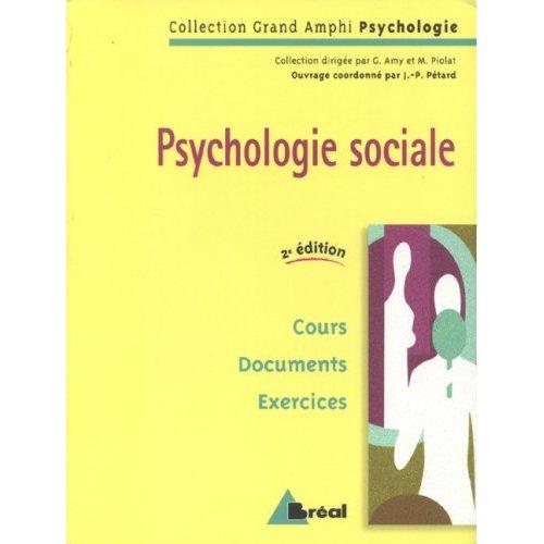 PSYCHOLOGIE SOCIALE (GRAND AMPHI)