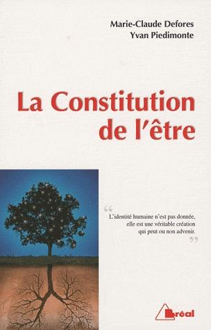 CONSTITUTION DE L'ETRE (LA)