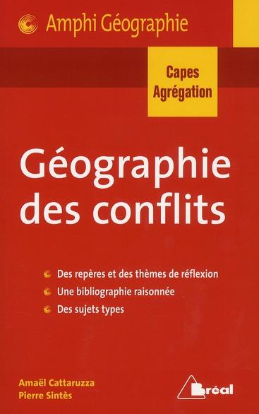 GEOGRAPHIE DES CONFLITS